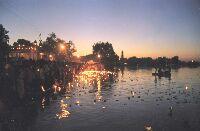 Night view of Shri Kolayat Temple, Bikaner