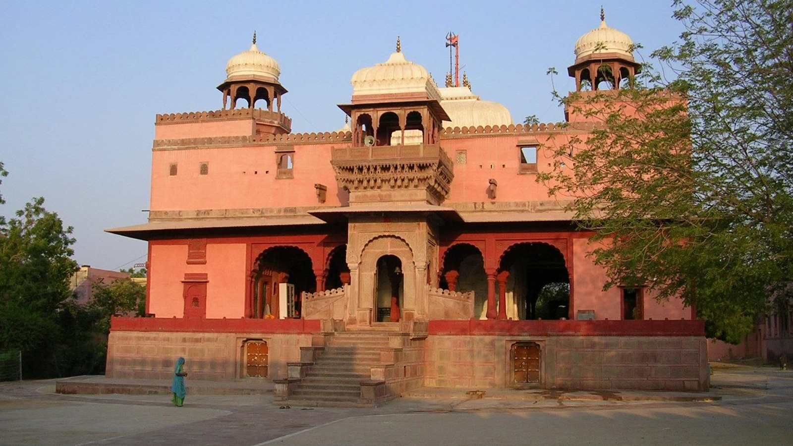 View of Shvibari Temple, Bikaner