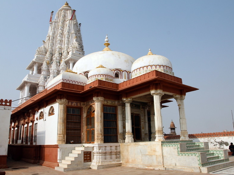 View of Lakshmi Nath Temple, Bikaner